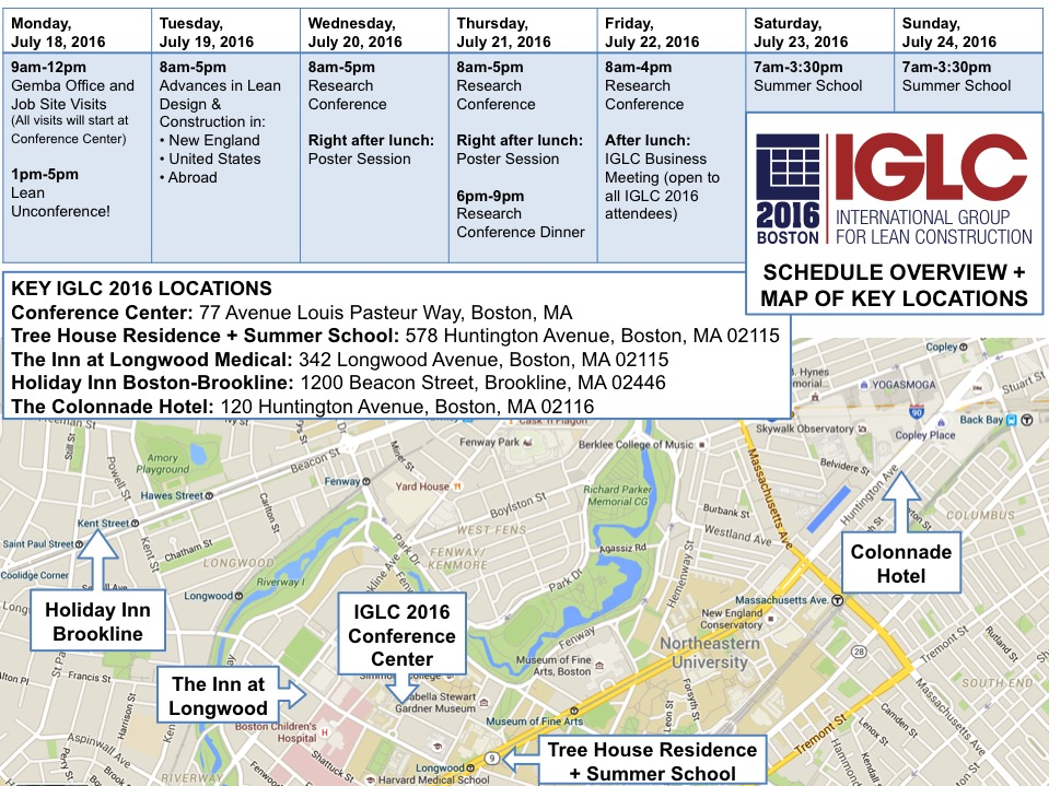 2016-05-18-IGLC-2016-Schedule-Overview-and-Map